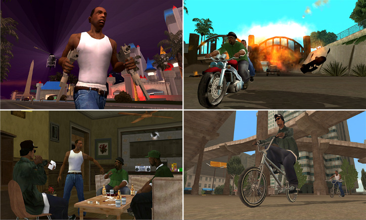 GTA: San Andreas Windows Phone