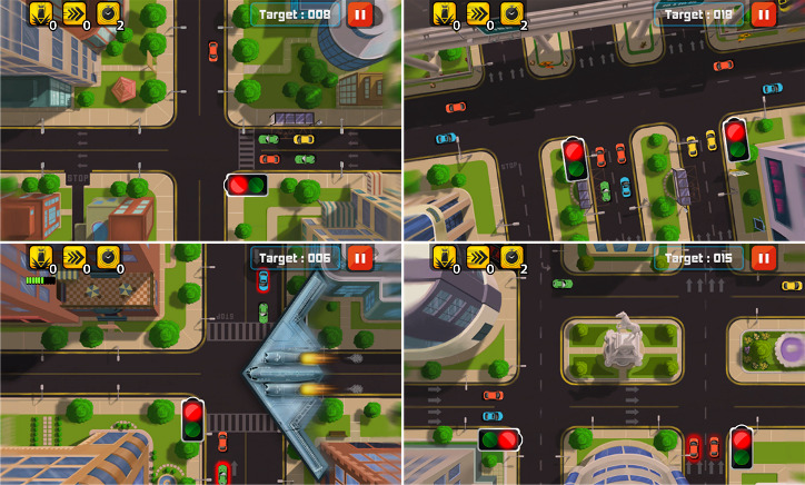 Traffic Frenzy Windows Phone