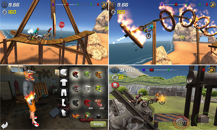 Trial Extreme 3 Windows Phone