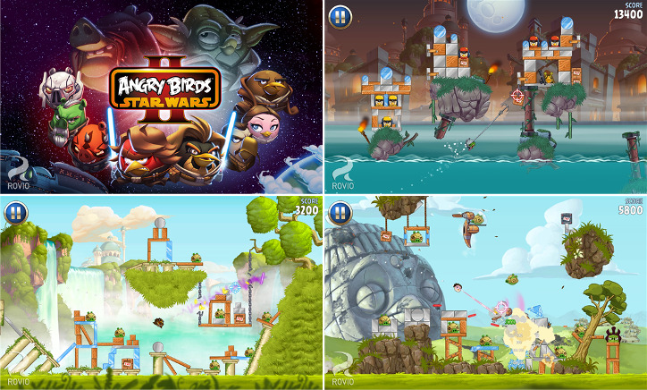 Angry Birds Star Wars II dla Windows Phone