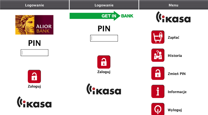 iKASA Alior Bank Getin Bank dla Windows Phone