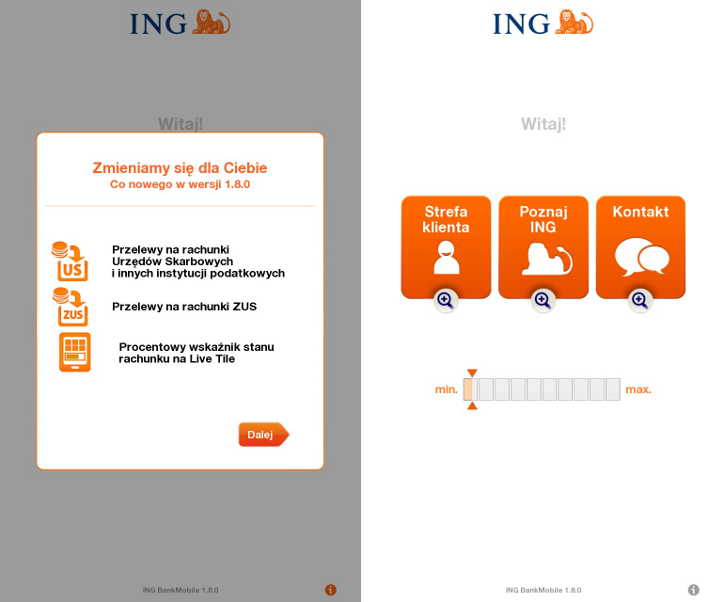 INGMobile Windows Phone
