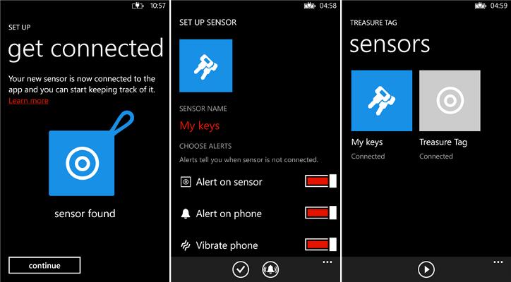 Nokia Treasure Tag w Sklepie Windows Phone