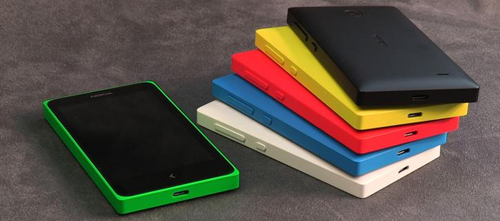 Nokia X - aplikacje Android