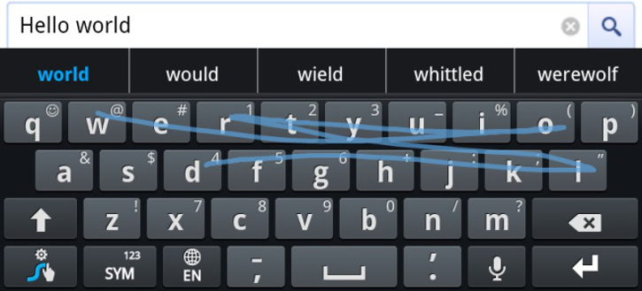 Swype dla Windows Phone