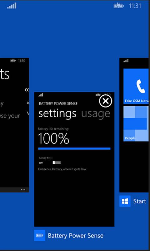 Windows Phone 8.1 - zamykanie aplikacji przesunięciem w dół (swipe down)