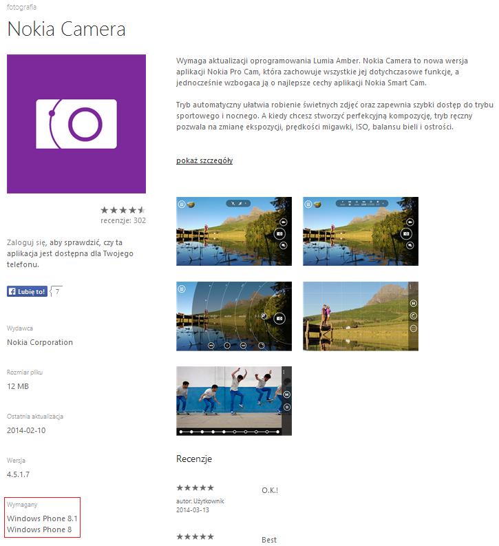 Aplikacje Windows Phone 8.1