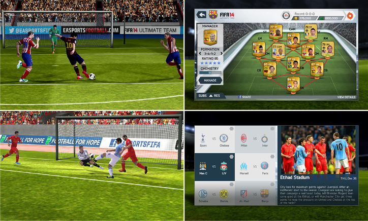 FIFA 14 Windows Phone