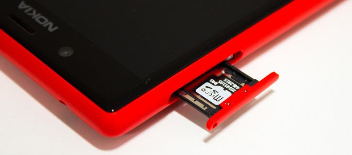 Karta pamięci microSDXC dla Windows Phone