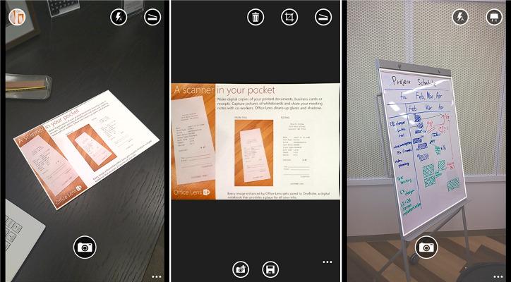 Microsoft Office Lens dla WIndows Phone