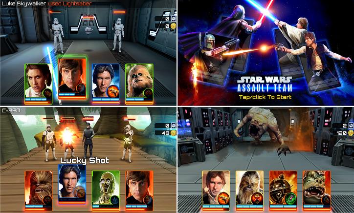 Star Wars: Assault Team Windows Phone
