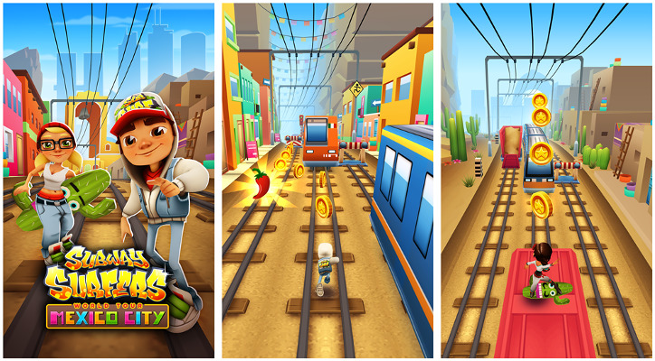 Subway Surfers Mexico City Windows Phone