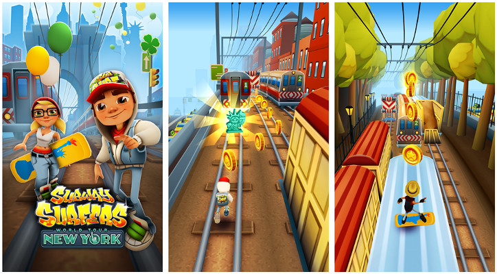 Subway Surfers New York dla Windows Phone