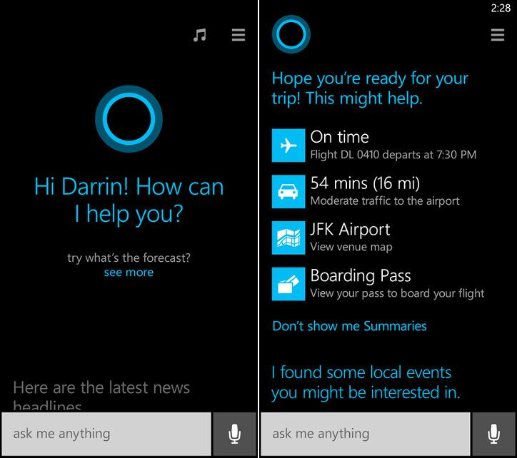 Asystent głosowy Cortana w Windows Phone 8.1