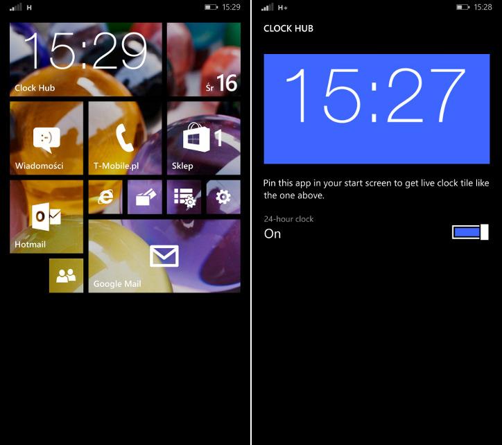 Clock Hub Windows Phone 8.1