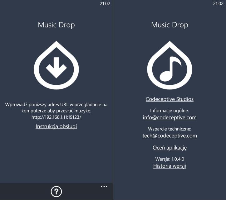 Music Drop 1.0.4.0 Windows Phone