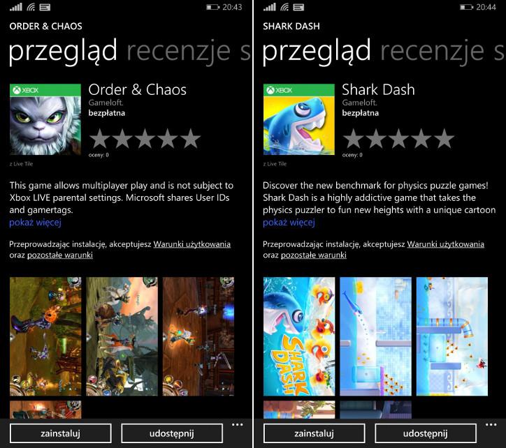 9 bezpłatnych gier Gameloft