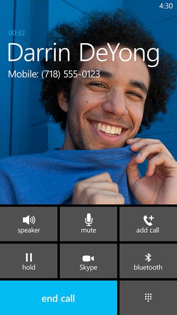 Skype w Windows Phone 8.1