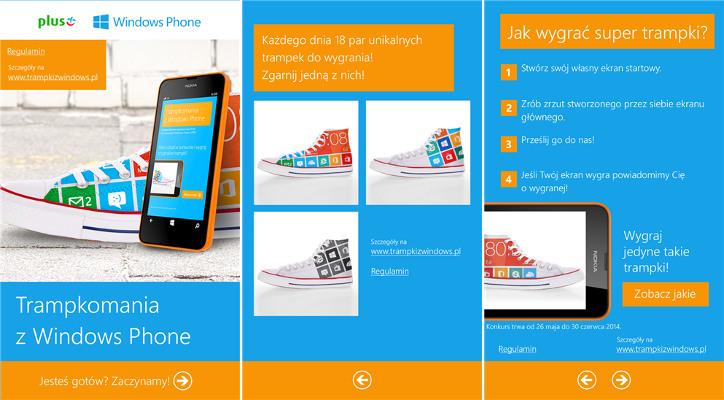 Trampkomania z Windows Phone