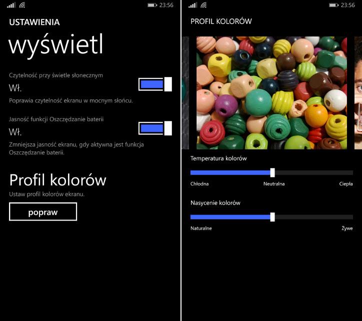 Microsoft Moible Oy - funkcja wyświetl w telefonach Nokia Lumia