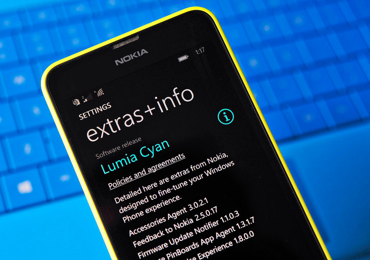 Aktualizacja Lumia Cyan