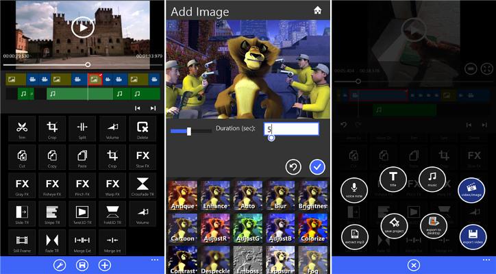 Movie Maker 8.1 dla Windows Phone