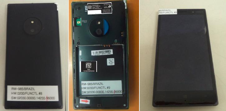 Lumia 830 (RM-985)