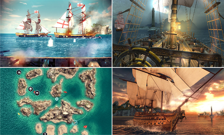 Assassin's Creed Pirates Windows Phone