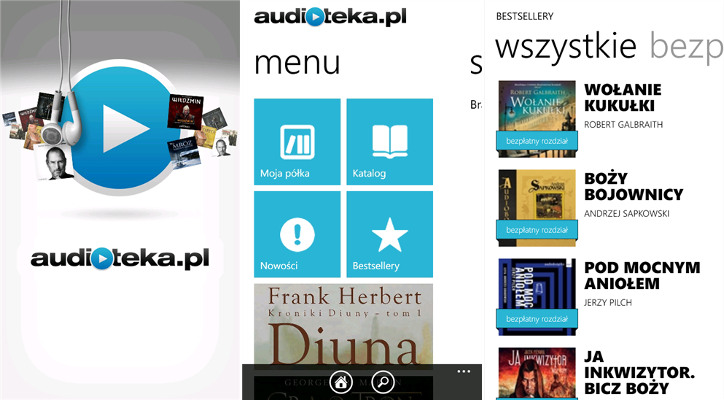 Audioteka Windows Phone