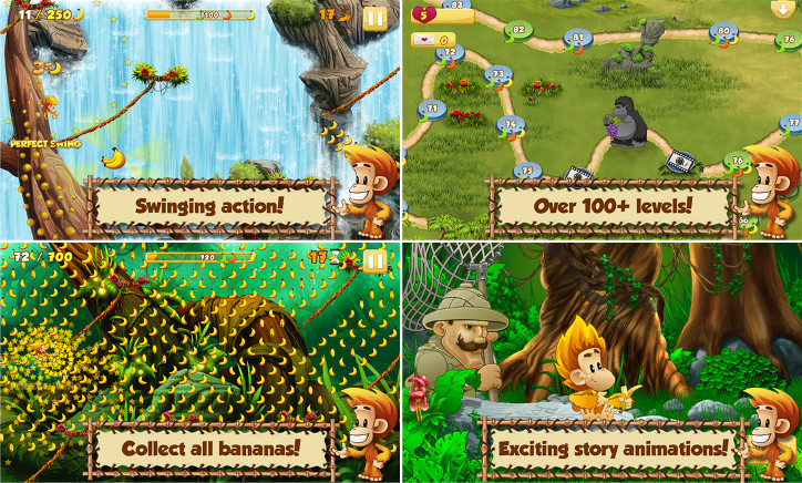 Benji Bananas Adventures dla Windows Phone