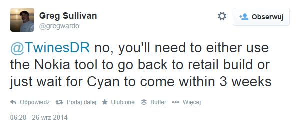 Greg Sullivan - Lumia Cyan dla PfD