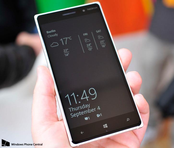 Lumia Denim - nowy ekran podglądu
