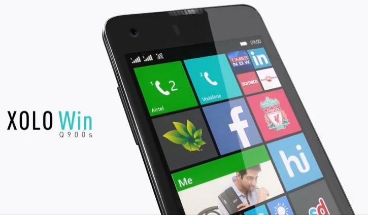 XOLO Q900s Windows Phone