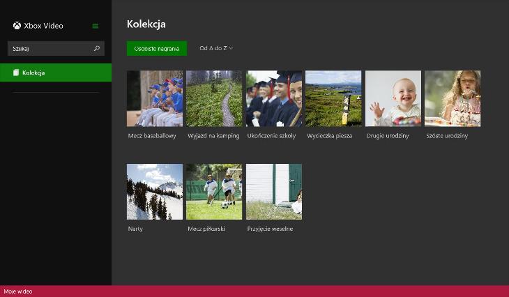 Wideo (Xbox Video) - Windows 8.1 i Windows 10