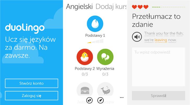Duolingo Windows Phone