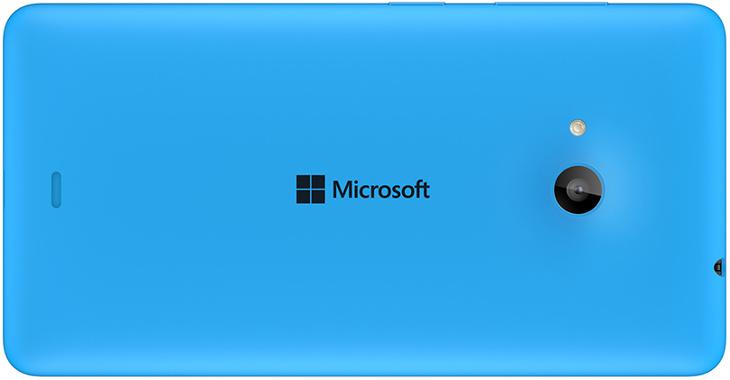 Microsoft Lumia 535 - tylna obudowa z logo Microsoft