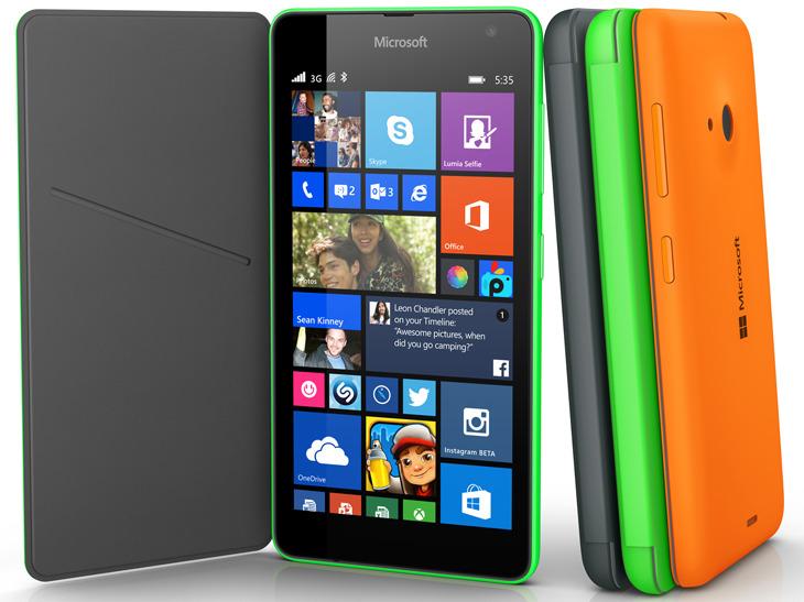 Microsoft Lumia 535 z etui
