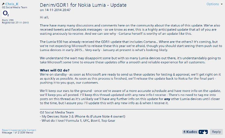 Sieć O2 - Lumia Denim