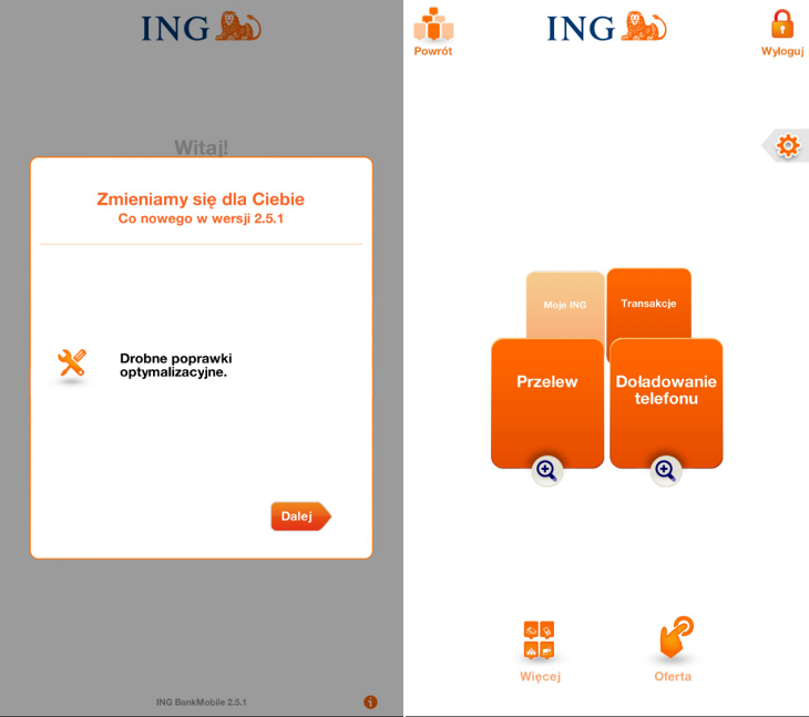 INGMobile 2.5.1.0 Windows Phone