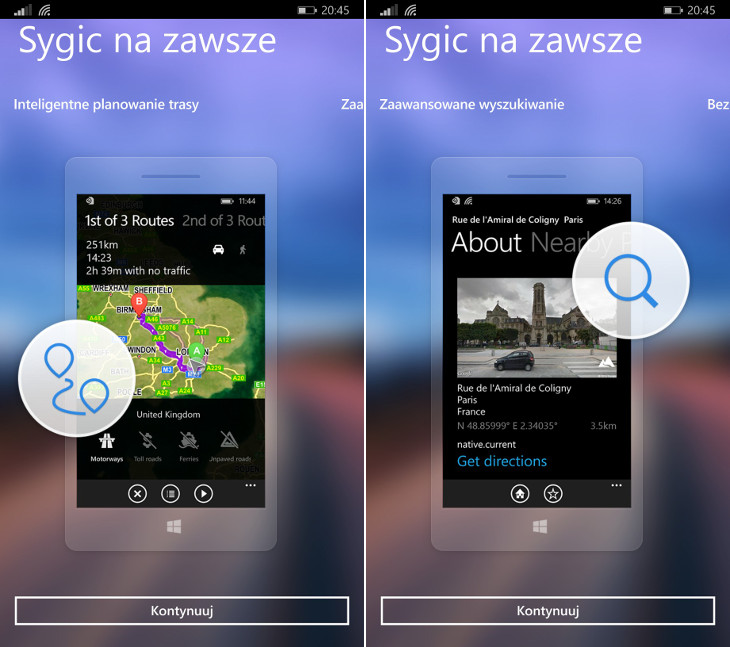 Sygic Windows Phone