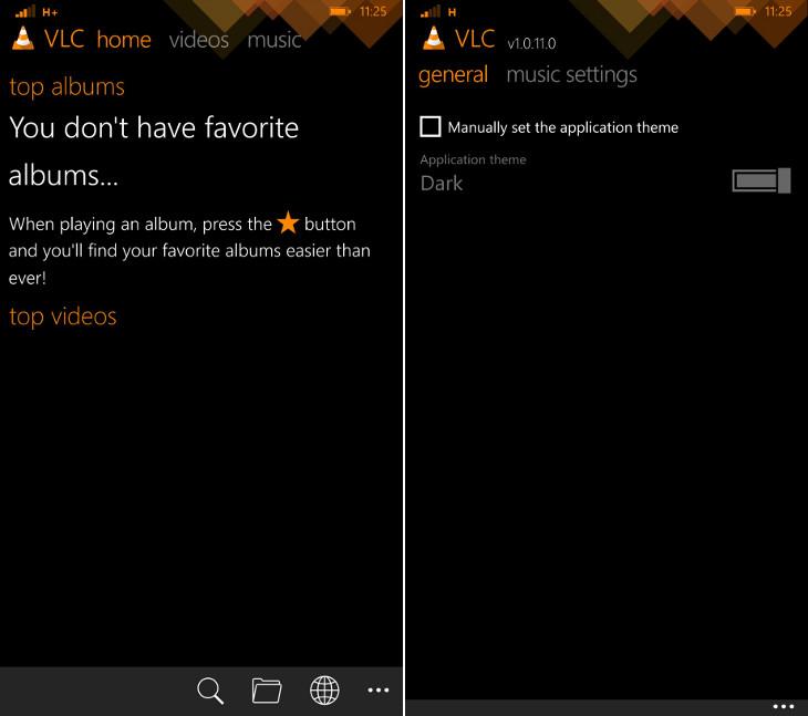 VLC Windows Phone
