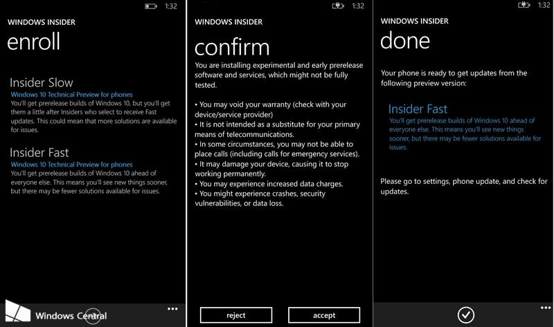 Windows Insider dla Windows Phone