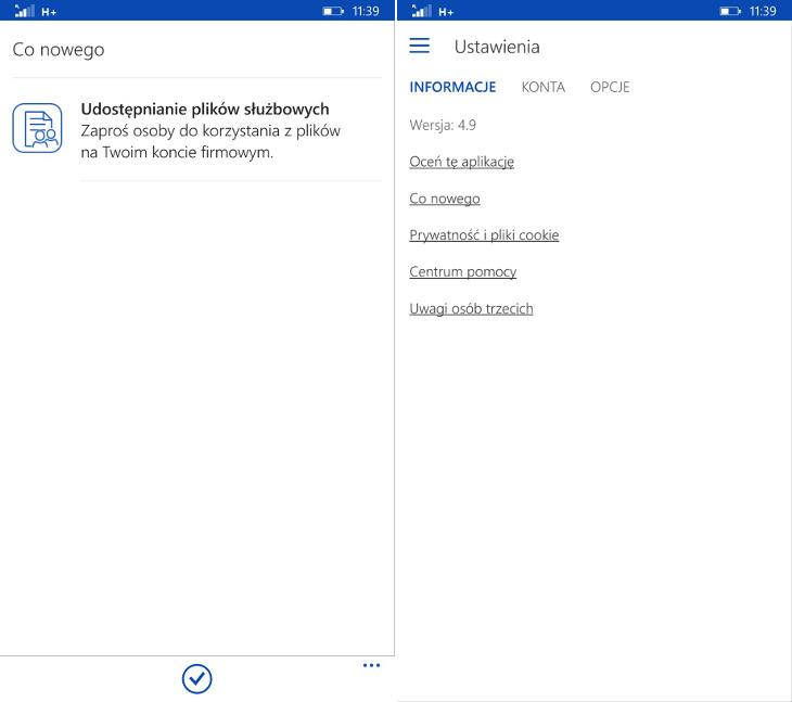 OneDrive 4.9.0.0