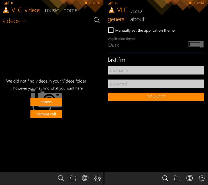 VLC 1.2.1.0