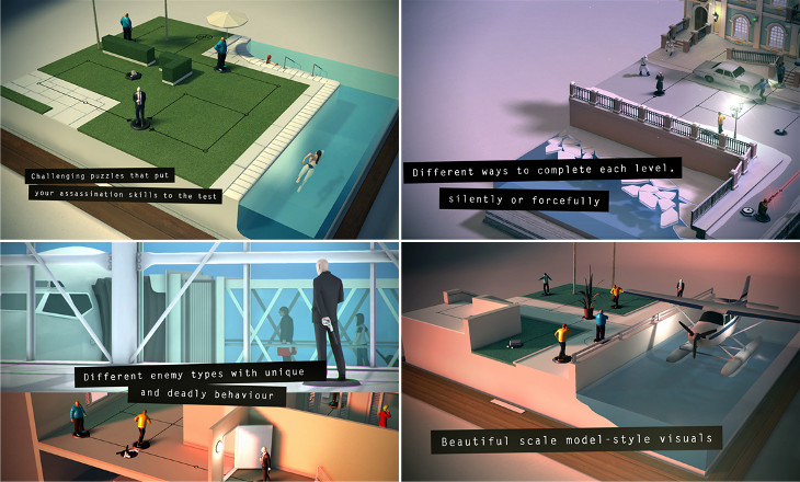 Hitman GO dla Windows Phone
