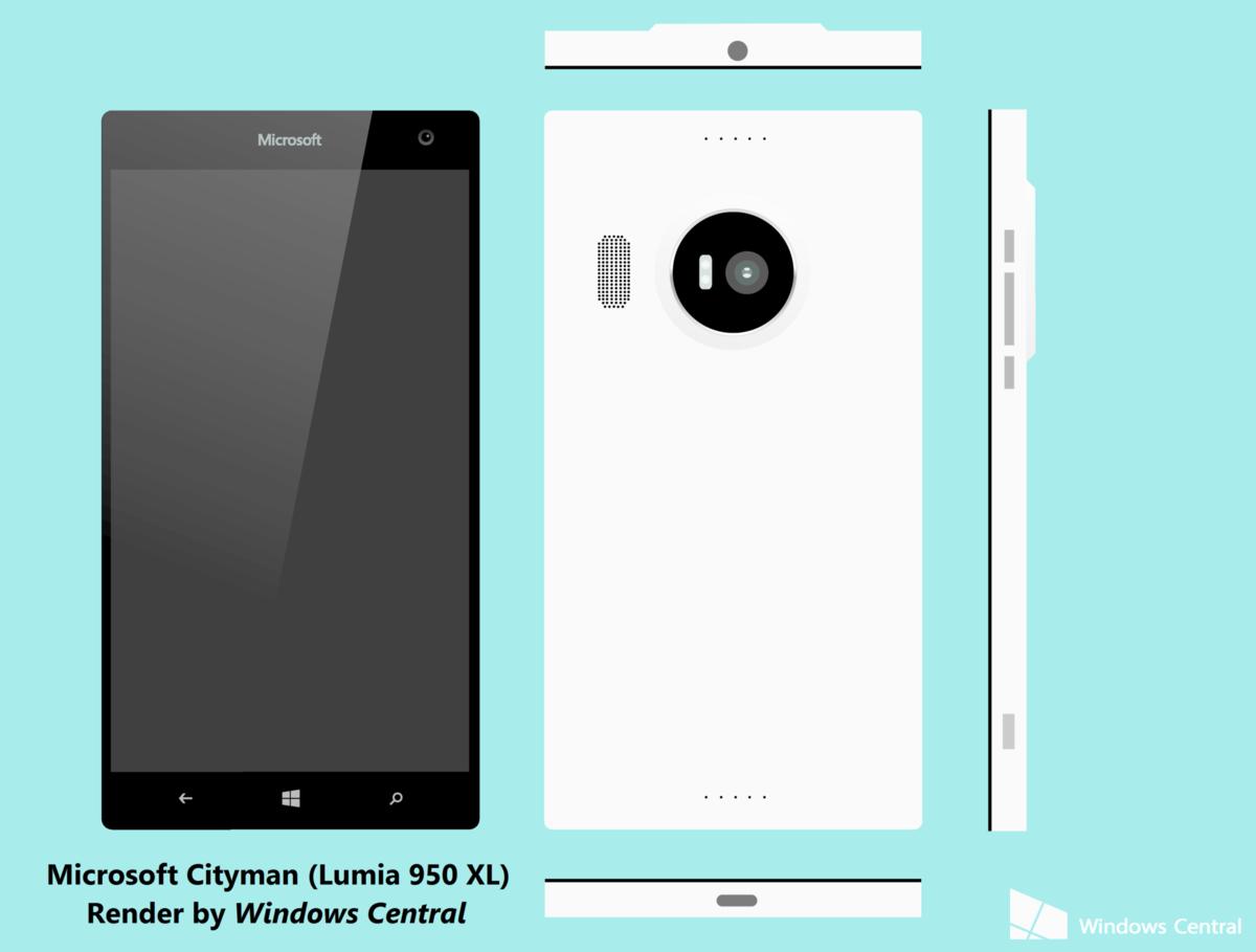 Cityman - Microsoft Lumia 950 XL