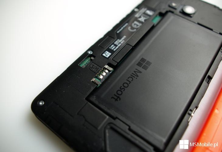 Microsoft Lumia 640 - gniazdo SIM