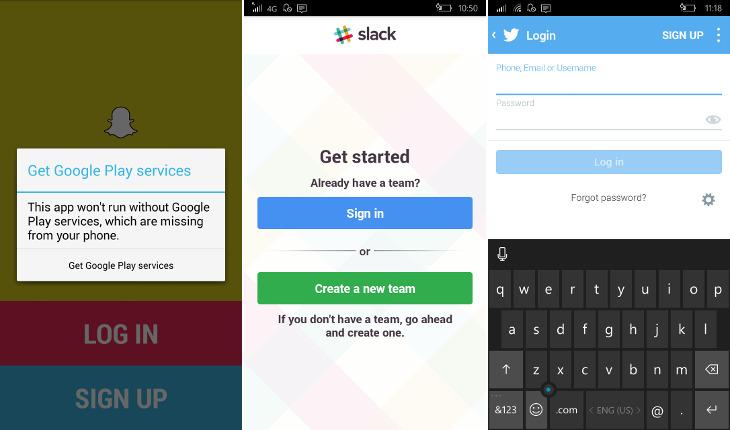 Aplikacje Android na Windows 10 Mobile