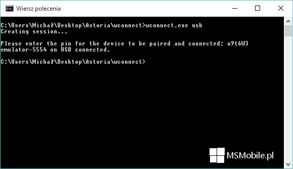 wconnect.exe usb