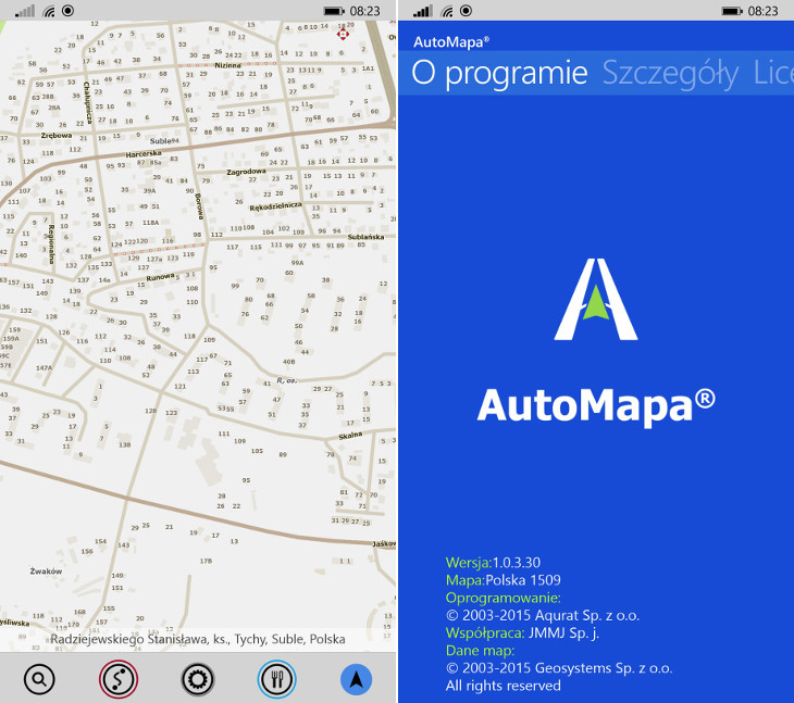 AutoMapa 1.0.3.30 dla Windows